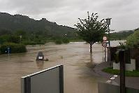 Juni 2013 Hochwasser in Rossatz_2